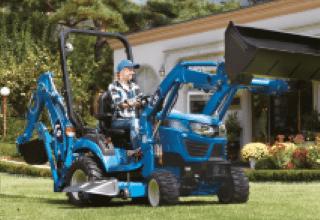 LS Tractor mt125 front loader