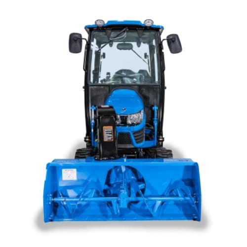 ls tractor mt125 snow blower