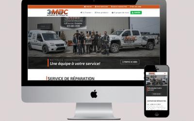 Nouveau site web pour mieux vous servir!